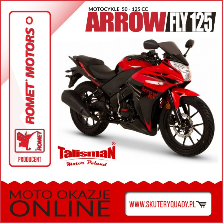 ROMET ARROW FLY 125