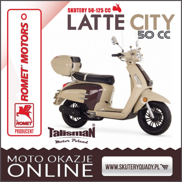 ROMET LATTE CITY 50