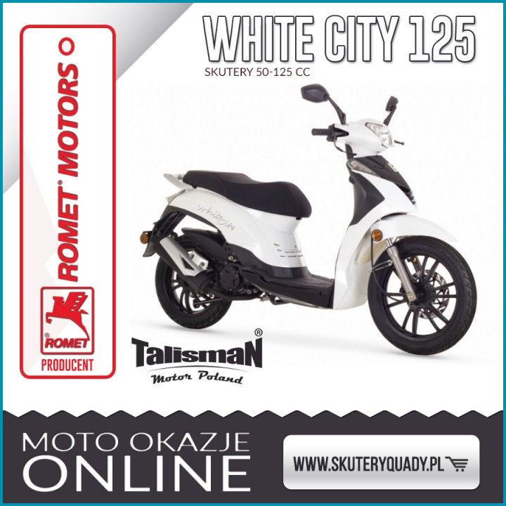 ROMET WHITE CITY 125