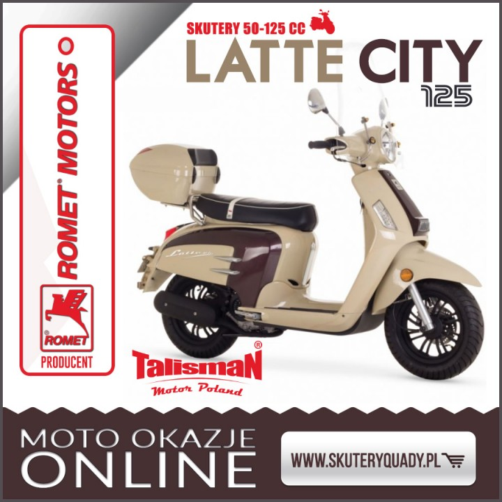 ROMET LATTE CITY 125